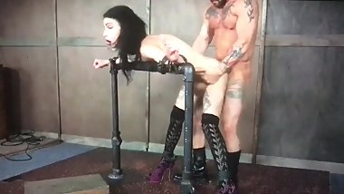 BDSM stand fuck 1