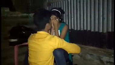 Indian lovers making out