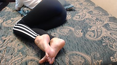 Russian foot fetish model #2