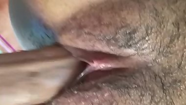 Slutty Freak Fucks Boyfriend's Teen Brother with Pretty Hairy Milf Pussy.
