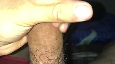 Solo moaning male huge cumshot