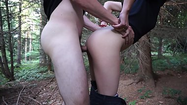 Deep in the forest sex