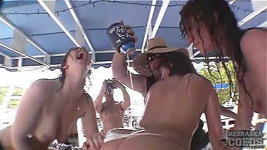 party cove memorial day crazy footage by my brother crazy girls in public