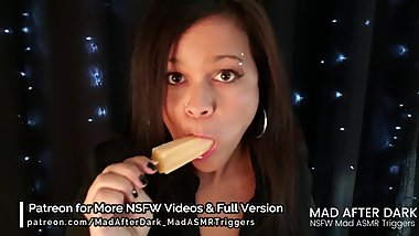 NSFW Erotic ASMR - Licking and Sucking on a Lollipop & Pocket Pussy
