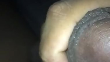 Jerking bbc in slow motion