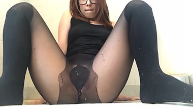 Peeing In My Tights  Very Sexy