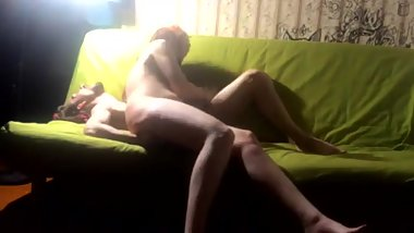 Russian redhead amater home sex video