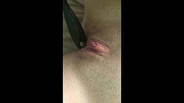 Teen Edging Quietly While Her Parents Are Home