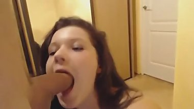 Cute Teen Blowjob