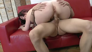 FENCH TEEN GETS POUNDE IN BOTH OF HER HOLES IN DP THREESOME