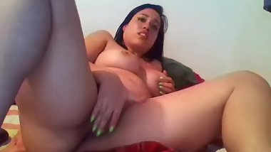 Sexy Babe Strips Down for Ex-Boyfriend // Skype Sex