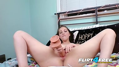 Nickey Huntsman on Flirt4Free - Sexy Pornstar Cams Dirty Talking to a Fan
