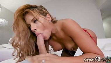 Milf cock anal Hot Milf Fucked Delivery Guy