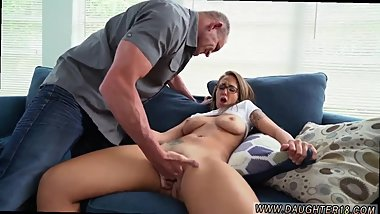 Wife handjob swallow Sneaking Around With Daddy's patron