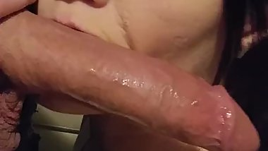 CUM DOWN MY THROAT DADDY!