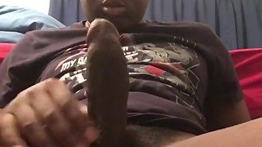 Big Dick Cumming Through
