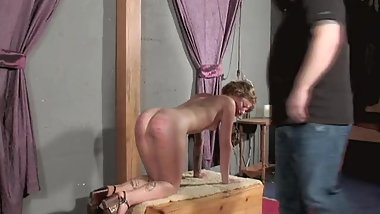 Graham's Spanking Session (PainToy)