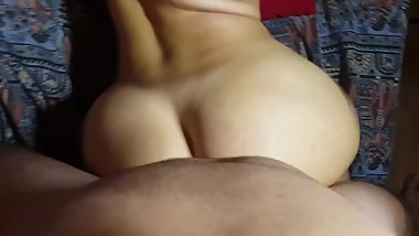 Stepsis get fucked doggy styled and her ass covered with cum