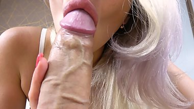 Teen Sucks Big Cock and Perfect Ass Riding