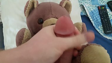 Cumming on my ex-girlfriends favorite gift doll