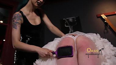 Lady Shayne's Spanking Party
