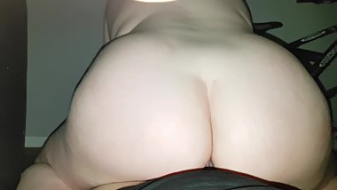 Big Ass Teen Rides Me
