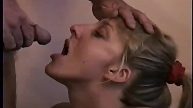 Girl Sucking Piss Straight from Cock