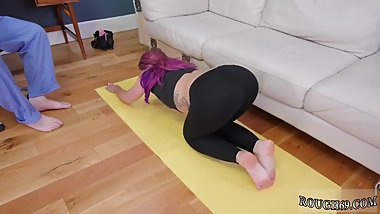 White bondage squirt Ass-Slave Yoga