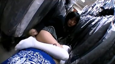 Sex With High Schoolgirl Inside Thrift Shop