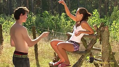 sommertime - teens horny 18 years in the forrest
