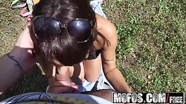 Mofos - Public Pick Ups - Hungarian Hottie Pounded Outdoors , Suzy Rainbow