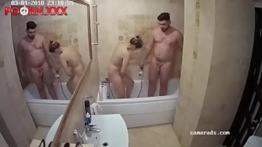 Bathroom sex with HOT blonde mia reallifecam voyeur