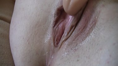 Up close view of me fucking my wet pussy