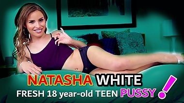 Natasha White PMV 2018 (teeny bopper, cumshot, interracial, cutie)