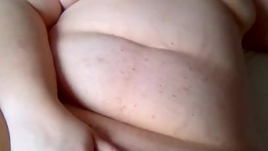 Slut Bbw masturbates and gets fingered