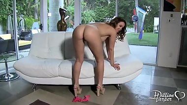 Dillion Harper masturbating for our