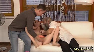 Russian milf and associate' playfellow's daughter babes fisting