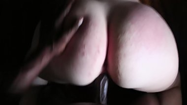 Big booty Pawg getting pounded doggystle until cumshot on ass