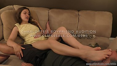 Charlotte's Boyfriend Audition - (Dreamgirls in Socks)